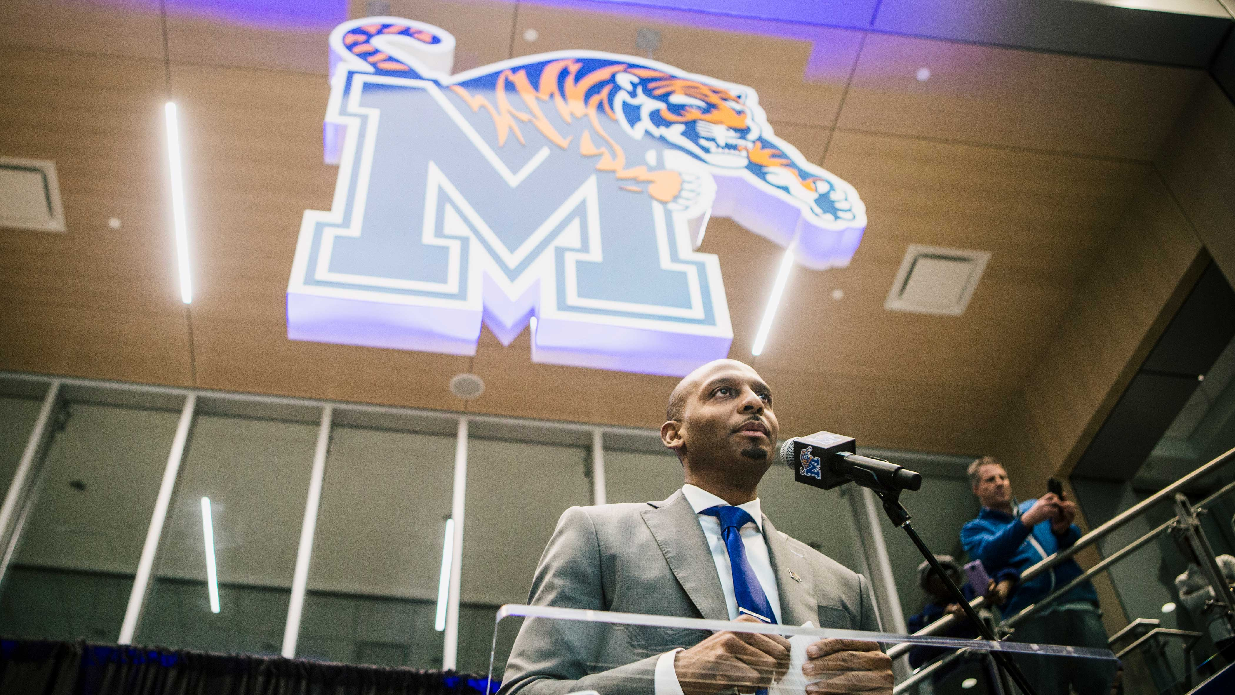 Penny Hardaway. new head coach for University of Memphis